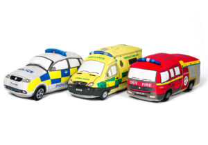 Our emergency vehicle plush toy range are based on British designs and are enjoyed by children of all ages.