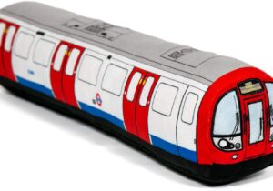 The London Underground is undoubtedly the most famous subway system in the world. Our Tube train cushion is the ideal bedtime companion for all train lovers alike. Available in small or large.   Officially Licensed Product
