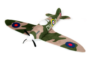 The Spitfire is the pride of Britain. It is an icon that lives to this day. Our soft toy passes this story onto the next generation. A truly gorgeous toy.   Officially Licensed Product