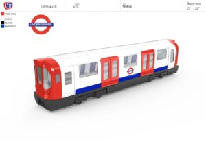 Brand new to our TfL collection is the new and updated diescast toy train! Based on the new S Stock design, become a Tube driver and take it with you on all your train journey in London!