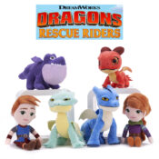 Create your own Rescue Riders adventures with these high-quality and detailed soft toys in AW21. Varying sizes and characters available, from small to large toys. Suitable for ages 12M+.