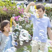Gazillion Bubbles has created premium bubble products for over 10 years! Offering hours of fun, the solution blows bigger bubbles than any other. With an array of bubble toys and highly functional bubble machines, Gazillion Bubbles has something for everyone