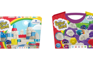 Let kids create with Super Sand, the high quality magic sand. Enjoy great sensory play with sand that is super soft to touch, lightweight yet easily buildable and non-staining! The range includes price points to suit every need.