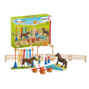 Packed with fun for training Schleich ponies