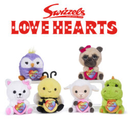 The Love Hearts soft toy range is full of fun, with sentimental and cheeky messages, they make the perfect presents for friends and family. There are over 17 super-soft and cuddly toys available.