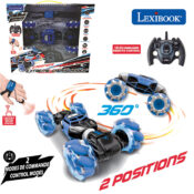 The Extreme Crosslander is an radio controlled car with motion control for extreme racing! It includes 2 control modes, 2 positions, lighting wheels and wrist motion control to do insane moves and amazing stunts!