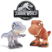 Officially licensed Jurassic World soft toys, featuring iconic and fan-favourite dinosaurs that are new and available to order now. Varying sizes available, from small to large toys.  Suitable for ages 12M+.