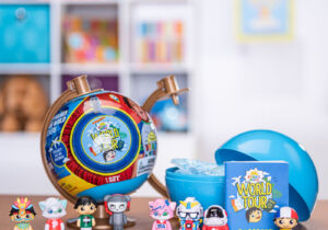 Ryan's off on his travels, taking part in the ultimate World Tour! Help Ryan discover each and every corner of the globe by collecting all of Ryan's World Tour figures. There's 80 different figures to collect each with 2 stickers.