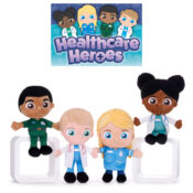 Supporting the fantastic work of our NHS key workers and inspiring aspirational play for young children, are the new Healthcare Heroes that are available in AW21. Four characters to collect.  Suitable for ages 12M+.