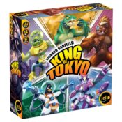 Play as mutant monsters, gigantic robots and other monstrous creatures, rampaging the city, vying for the position of King of Tokyo!