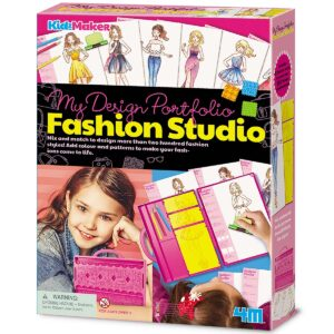 Make your dreams a reality and become a Fashion Designer! It's fun and easy to draw your own fabulous designs with all the tools you need to show off your creativity!