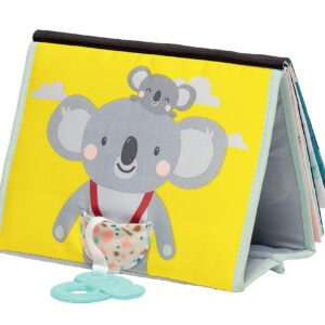The Taf Toys Koala Daydream Tummy Time Book is a beautifully illustrated, freestanding tummy time book that is the perfect companion for growing little ones learning to support themselves. With gorgeous images featuring Kimmy the Koala and her baby.
