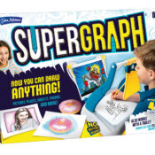 Now you can draw anything! The ideal tool for budding artists, SUPERGRAPH® allows you to draw anything, anywhere, with its unique, drawing system.
