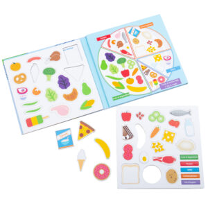 Teach little ones all about the different food groups in a fun & engaging way!
