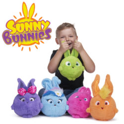 Fun & entertaining soft toys with special features. There are LARGE 'Giggle & Hop', MEDIUM 'Giggle & Wiggle' and SMALL 'Sound Slammers' soft toys that kids love to play with. Suitable for ages 12M+.