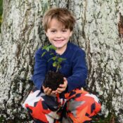 Mighty oaks from tiny acorns grow - and our Plant a Tree Kit can help children grow their very own. Includes a wooden-handled trowel designed for little hands, a seed collecting bag, compostable pots and a tree-planting guide.