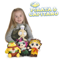Children can set sail on their imaginative adventures on the high seas with these brightly coloured and super-soft preschool toys.  Varying sizes and characters available.  Suitable for ages 12M+.