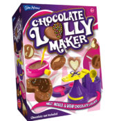 Melt, mould and wrap your own chocolate lollies! It's fun, easy and safe to do and makes a perfect gift for family and friends. Use your own chocolate buttons or chocolate pieces to make your lollies.