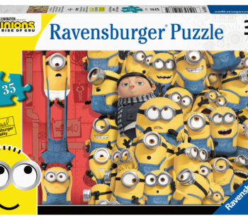 Just one of many fantastic Minions 2 film related products in our range for this year. Relive the adventure from the film at home with this fun 35pc puzzle, and look out for games and 3D puzzles in the range.