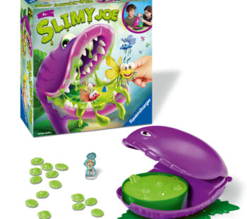 You must summon all your courage and act fast! Be brave, reach into the slime and save the flutterbies. Hurry – every second counts! Slimy Joe is still hungry. When is his mouth going to snap shut again?