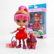 """For Keeps 5"""" Aspirational Fashion Doll with Accessories"""