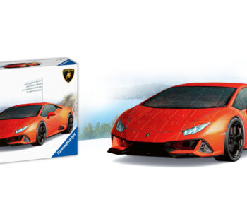 On a scale of 1:18, the Lamborghini Huracan 3D Puzzle is the perfect miniature, with elegant lines and a classically orange design appealing to any car enthusiast.