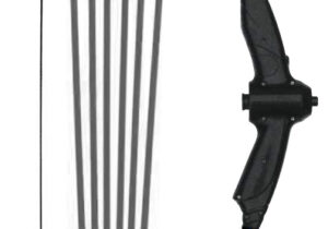 The Stealth Archery Set follows the success of the Sureshot Archery Set but offers extra power and accuracy. Comes with 6 sucker safety arrows. Suitable for ages 14+.