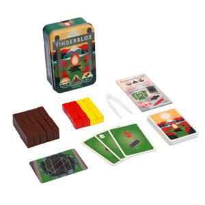 Feel the heat in this campfire dexterity game!