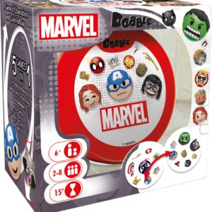 The new version of Dobble combines different characters from Marvel animation with one of the most emblematic family games.