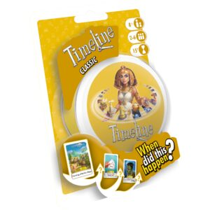 When was the first village founded? When were playing cards invented? Place historical facts in the correct order to win this travel-friendly family card game!