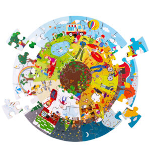 We've added some beautiful new floor puzzles to the collection! Explore a new type of play with our circular puzzles. Ideal for group play, these puzzles look great from every angle.