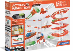 Design tracks, experiment with gravity/force by creating chain reaction play circuits. Packed with pieces and accessories, it allows kids to personalise their chain and learn as they go. The ultimate in STEM excitement.