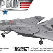F14A Tomcat® 1:48 scale construction block model