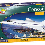 Concorde Historical Collection 1:95 scale construction block model