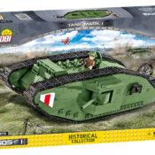 Tank Mark I Historical Collection construction block model