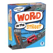 Word on the Street – A fun-fuelled race to claim 8 letter tiles faster than your opponents in this hilarious tug of words.