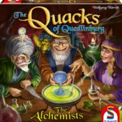 Introducing nightmares and hysteria to citizens of Quedlinburg! Create concoctions and receive valuable bonuses to become number one alchemist!