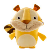 Joining the Ecoplush Ocean Series, is the Jungle Series! This sustainable plush line is composed by recycled bottles removed from the ocean to get the stuffing. All characters are made from 100% recyclable material.