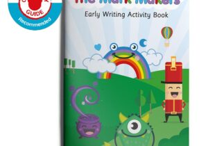 an early writing programme that encourages every child to make their mark. Aimed at children from 5 months upwards, the range simplifies writing skills through making basic marks.