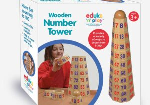 Children can practice both number recognition counting addition, subtraction or multiplication.