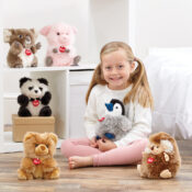 Flair's premium plush brand Trudi has gifting all wrapped-up! These plush pals are the softest of first companions that will be treasured for years to come! Catering for all, the Trudi range features classic characters, Fluffies, Puppets, Charms, and more!