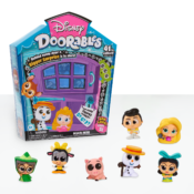 Disney Doorables offers a fresh take on unboxing, with multiple layers of surprise. Girls will love revealing and collecting the Disney characters hidden behind surprise doors! Available as Mini Peek and Multi Peek Packs and as A'Doorable Mini Playsets.