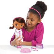 There are some adorable additions and refreshes within the Doc McStuffins collection. Don't miss the Doc McStuffins Wash Your Hands Doll; she sings a song about hand washing! There's also a five-piece Doctor's Dress-Up Set, a Light-Up Microphone, and more!