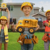 The Cat® Junior Crew™ range is full of fun character vehicles that are ideal for pre-schoolers and we just know little construction fans will LOVE them!