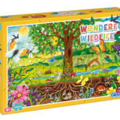 This 100 piece puzzle is just the trick for teaching your little ones about the natural world. Suitable for ages 5+ and presented in a planet-friendly box with no shrink-wrap plastic.
