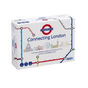 Ready, get set, go! Connecting London is the brand-new TfL game where players are given five tokens to build a train line sign.  Game is for ages 8+ and for 2 to 6 players.
