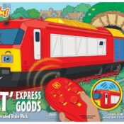 Playtrains - 'Bolt' Express Goods Remote Controlled Train Pack