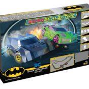 Micro Scalextric Batman vs The Riddler Battery Powered Race Set