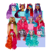 The VIP Pets Glitter Twist are the most fashionable dogs with glittery 30cm long hair! There are now 12 glittery characters to collect with different personalities and hobbies. Available from Easter!