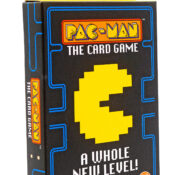 Featuring one of the world's most popular video game characters,  Pac-Man the Card Game is a colourful, simple and addictive game. The family-friendly game is quick and easy to learn with three ways to play.